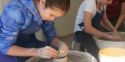 Youth Ceramic Wheel Throwing