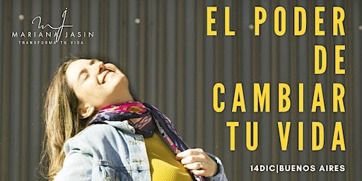 PREVENTA El Poder de Cambiar tu Vida |14 de Dic. | Buenos Aires