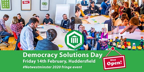 Democracy Solutions Day tickets