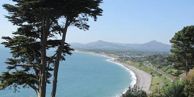 Coastal walk in Killiney Hill Park