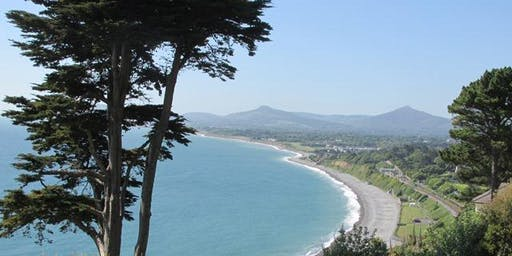 Coastal walk in Killiney Hill Park