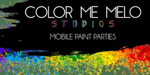 PAINT & KARAOKE @ Color Me Melo Studios Upland, CA