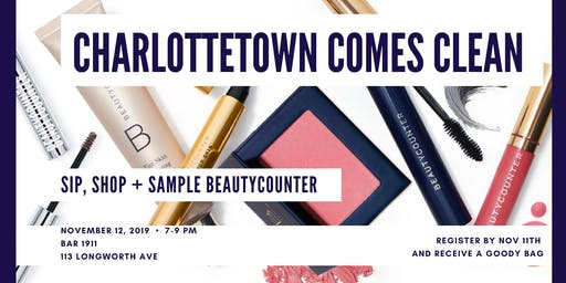 Charlottetown Comes Clean - Meet Beautycounter Event
