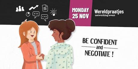 Wereldpraatjes: Be Confident and Negotiate! tickets