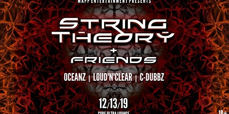 String Theory & Friends • Friday the 13th • Cube Ultra Lounge tickets