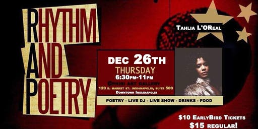 Rhythm & Poetry Thursday's Presents: a Holiday Vibe