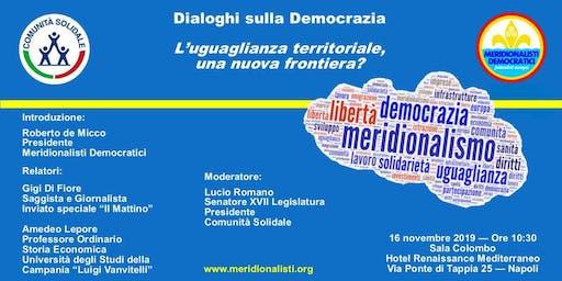 Dialoghi sulla Democrazia: l'uguaglianza territoriale
