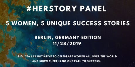 #HerStory Panel x Berlin, Germany tickets