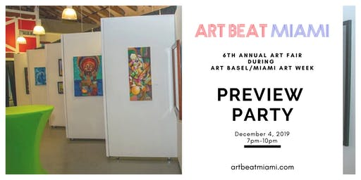 ART BEAT MIAMI Preview Party during Art Basel/Miami Art Week 2019