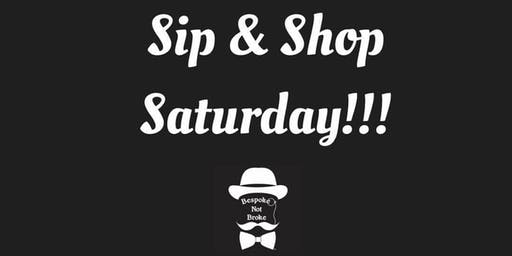 Holiday Sip & Shop, Saturday!
