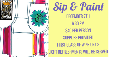Sip & Paint - Fun for Everyone! tickets