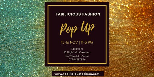 Fabilicious Fashion Pop Up