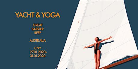 Yacht & Yoga tickets