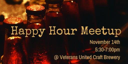 JYR November Social: Happy Hour Brewery Meetup!