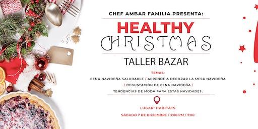 Taller de Cocina y Bazar Healthy Christmas