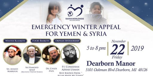 Emergency Winter Appeal for Yemen & Syria