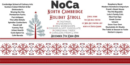 North Cambridge Holiday Stroll