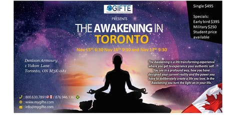 The Awakening Toronto tickets
