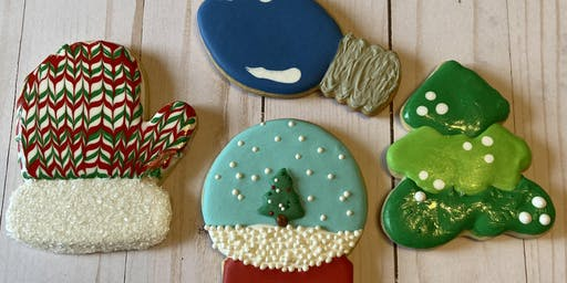 Beginner Cookie Decorating Class - Christmas Theme