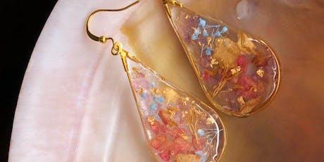 Resin Jewellery workshop by Dawn kwan tickets