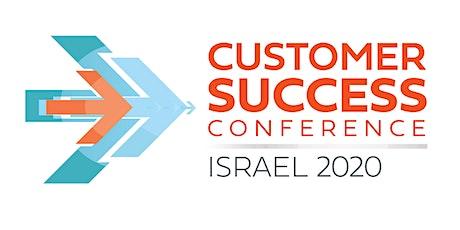 Customer Success Conference - Israel 2020 billets