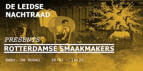 LNR NACHTCOLLEGE: ROTTERDAMSE SMAAKMAKERS tickets