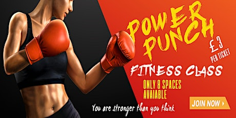 Power Punch Fitness Class tickets