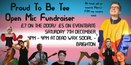 Proud to be Tee Open Mic Fundraiser tickets
