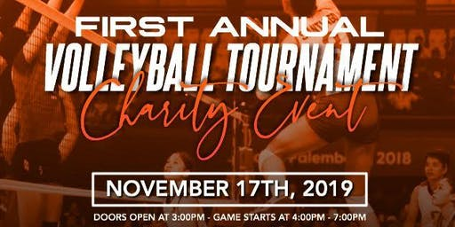 Volleyball Tournament Charity Event