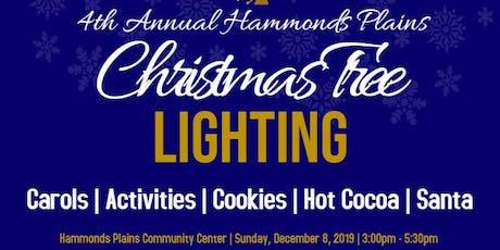 4th Annual Hammonds Plains Christmas Tree Lighting Celebration tickets