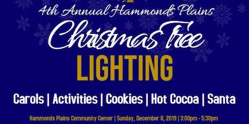 4th Annual Hammonds Plains Christmas Tree Lighting Celebration