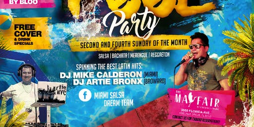 The Miami Latin Rooftop Pool Party