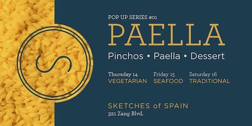 Paella Pop-up Series