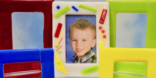 Kids, Create a Holiday Fused Glass Picture Frame!