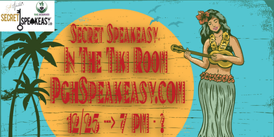 Secret Speakeasy: In The Tiki Room