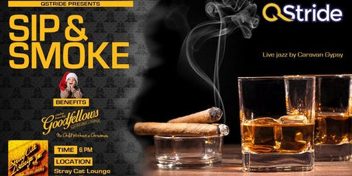 QStride Presents Sip & Smoke Holiday Networking Event