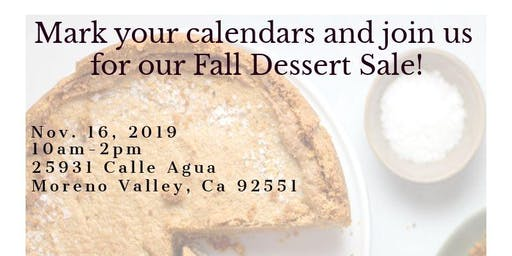 Elegant Impressions Bakery: Fall Dessert Sale