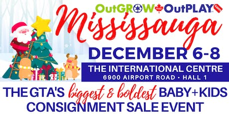 OutGROW OutPLAY Mississauga - GIANT Baby & Kids Sale Event! tickets