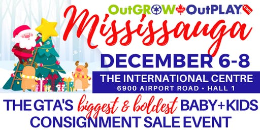 OutGROW OutPLAY Mississauga - GIANT Baby & Kids Sale Event!