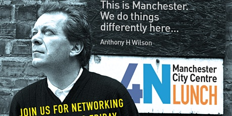 Manchester Business Networking - 4Networking  Lunch tickets