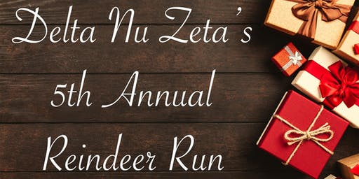 Delta Nu Zeta's 5th Annual Reindeer Run