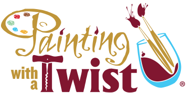 Christmas Social Fundraiser at Painting with a Twist