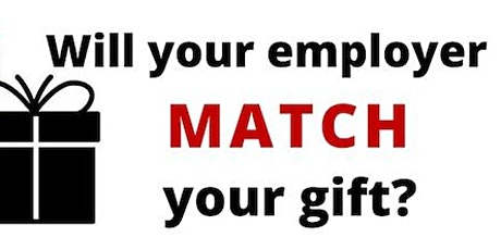 Info Session: Employed Volunteers w/ Employer Matching Gifts for Time/Money tickets