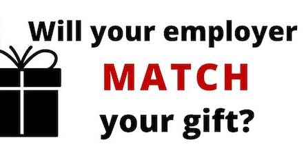 Info Session: Employed Volunteers w/ Employer Matching Gifts for Time/Money