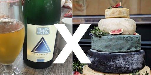 Cider vs Vegan Cheese