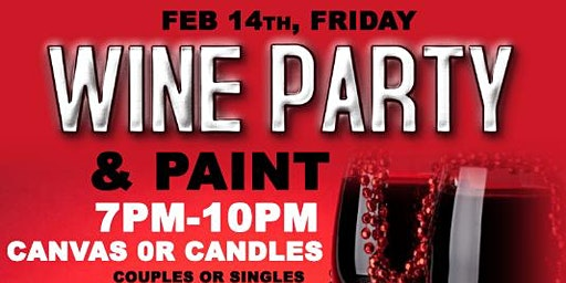 Valentines Day ( Paint Party ) Canvas & Candles @phiri