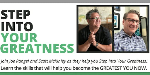 Step Into Your Greatness Now! Rancho Cucamunga, CA