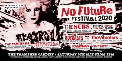 No Future 2020 ft/ UK Subs / The Partisans /Peter and the Test Tube Babies+