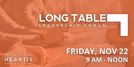 LongTable Leadership Forum