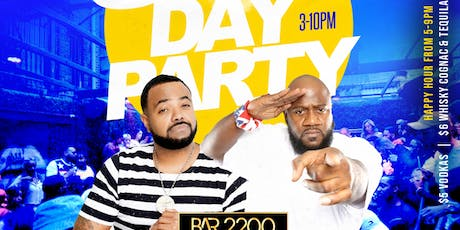 SATURDAY'S DAY PARTY & NIGHT PARTY @ BAR 2200 IN RIVER OAKS | $5 HAPPY HOUR DRINK SPECIALS + $20 HOOKAHS 5PM-9PM |FOOD AVAILABLE| FREE ENTRY ALL NIGHT |  FOR BOTTLE SERVICE OR MORE INFO TEXT 832.338.3829 OR @Bar2200htx ON INSTAGRAM tickets